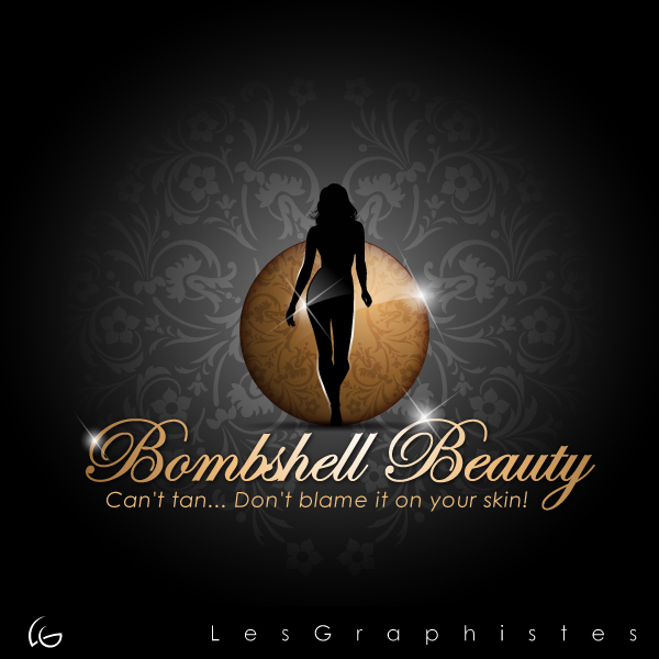 Logo Design by Les-Graphistes - Entry No. 15 in the Logo Design Contest Logo Design Needed for Exciting New Company Bombshell Beauty.