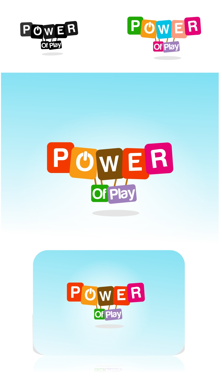 Logo Design by Private User - Entry No. 75 in the Logo Design Contest Power Of Play Logo Design.