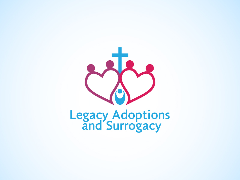 Logo Design by Niki_e_Z - Entry No. 6 in the Logo Design Contest Legacy Adoptions and Surrogacy Logo Design.