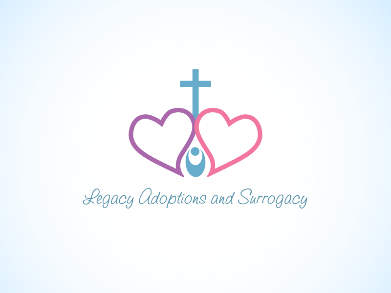 Logo Design by Niki_e_Z - Entry No. 7 in the Logo Design Contest Legacy Adoptions and Surrogacy Logo Design.
