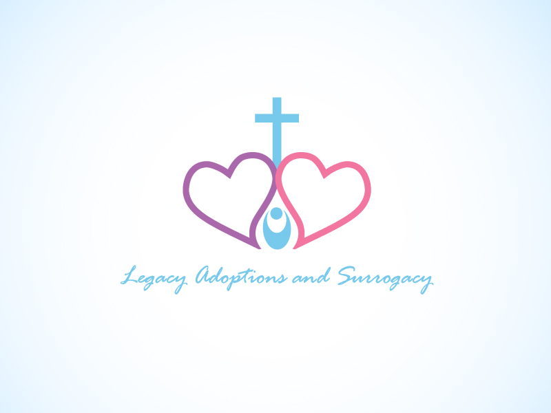 Logo Design by Niki_e_Z - Entry No. 9 in the Logo Design Contest Legacy Adoptions and Surrogacy Logo Design.