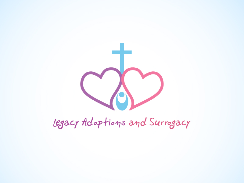 Logo Design by Niki_e_Z - Entry No. 10 in the Logo Design Contest Legacy Adoptions and Surrogacy Logo Design.