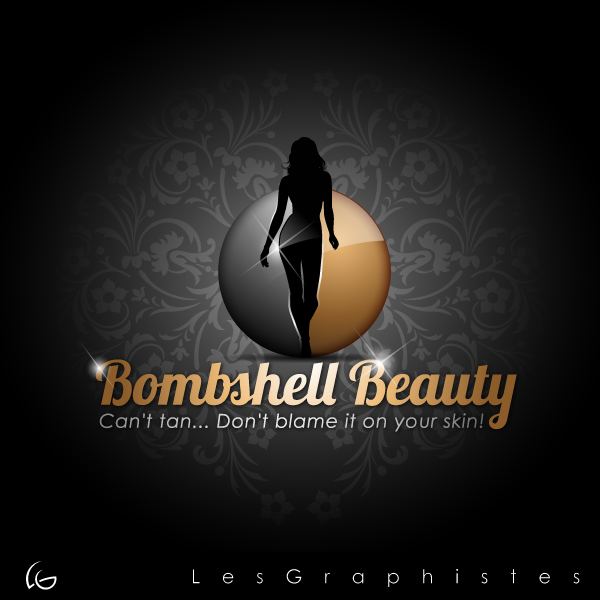 Logo Design by Les-Graphistes - Entry No. 21 in the Logo Design Contest Logo Design Needed for Exciting New Company Bombshell Beauty.