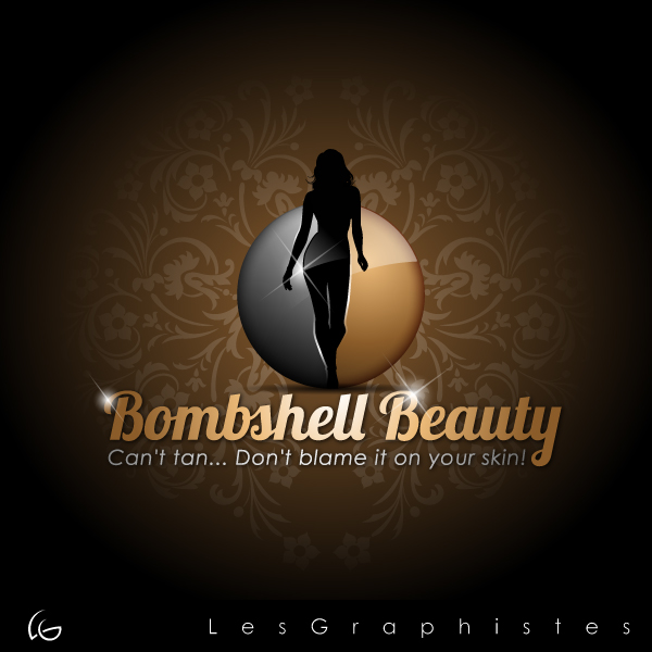 Logo Design by Les-Graphistes - Entry No. 22 in the Logo Design Contest Logo Design Needed for Exciting New Company Bombshell Beauty.