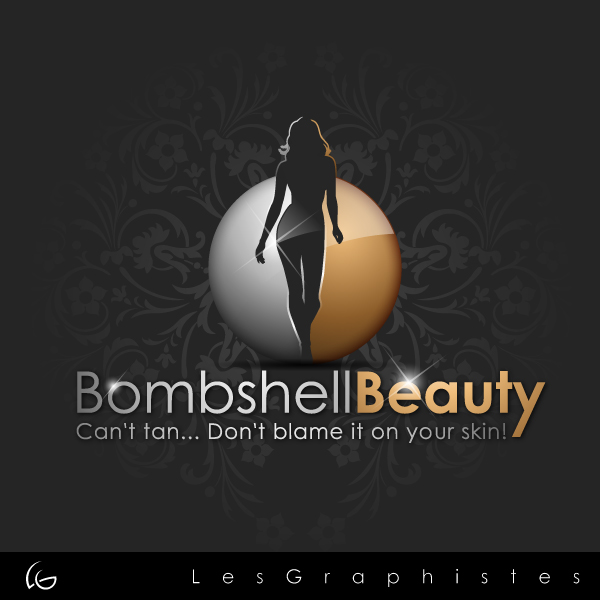 Logo Design by Les-Graphistes - Entry No. 23 in the Logo Design Contest Logo Design Needed for Exciting New Company Bombshell Beauty.