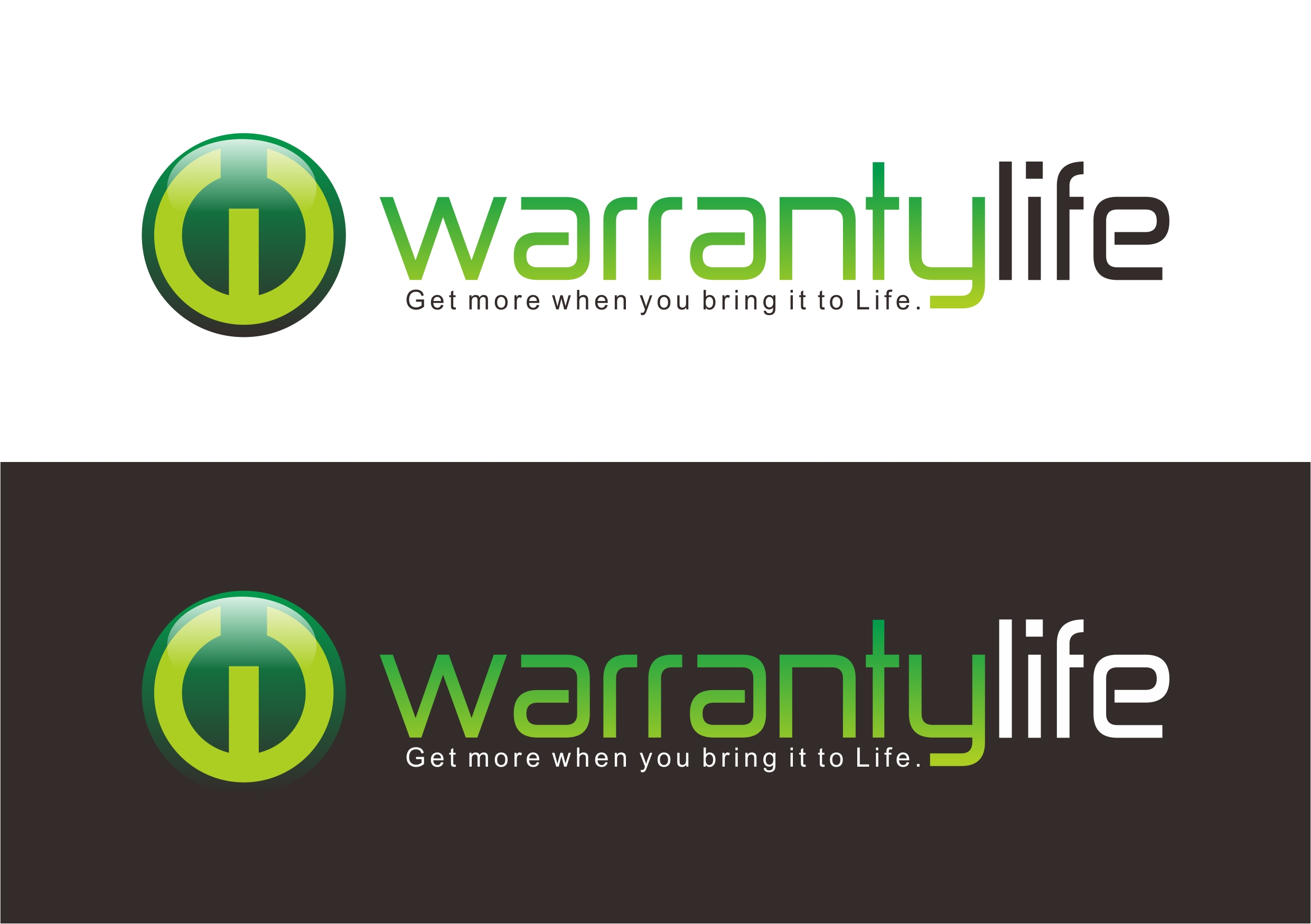 Logo Design by Teguh Mudjianto - Entry No. 13 in the Logo Design Contest WarrantyLife Logo Design.