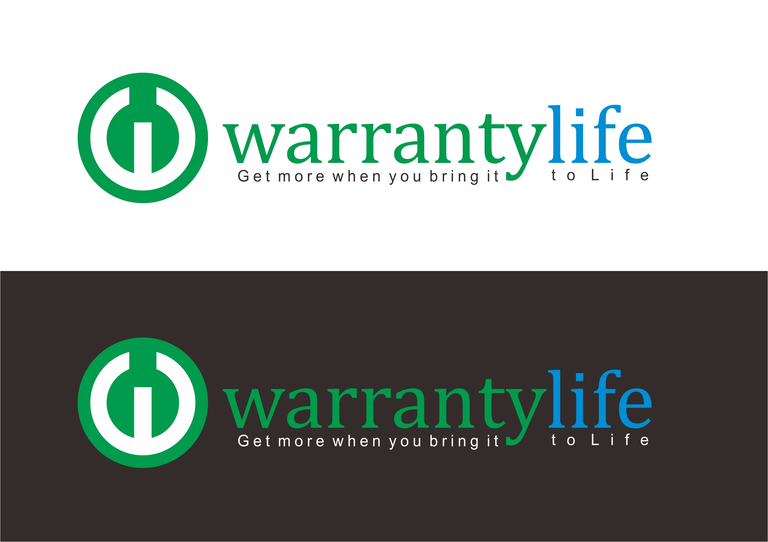 Logo Design by Teguh Mudjianto - Entry No. 18 in the Logo Design Contest WarrantyLife Logo Design.