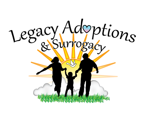 Logo Design by robken0174 - Entry No. 11 in the Logo Design Contest Legacy Adoptions and Surrogacy Logo Design.