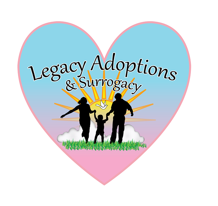 Logo Design by robken0174 - Entry No. 12 in the Logo Design Contest Legacy Adoptions and Surrogacy Logo Design.
