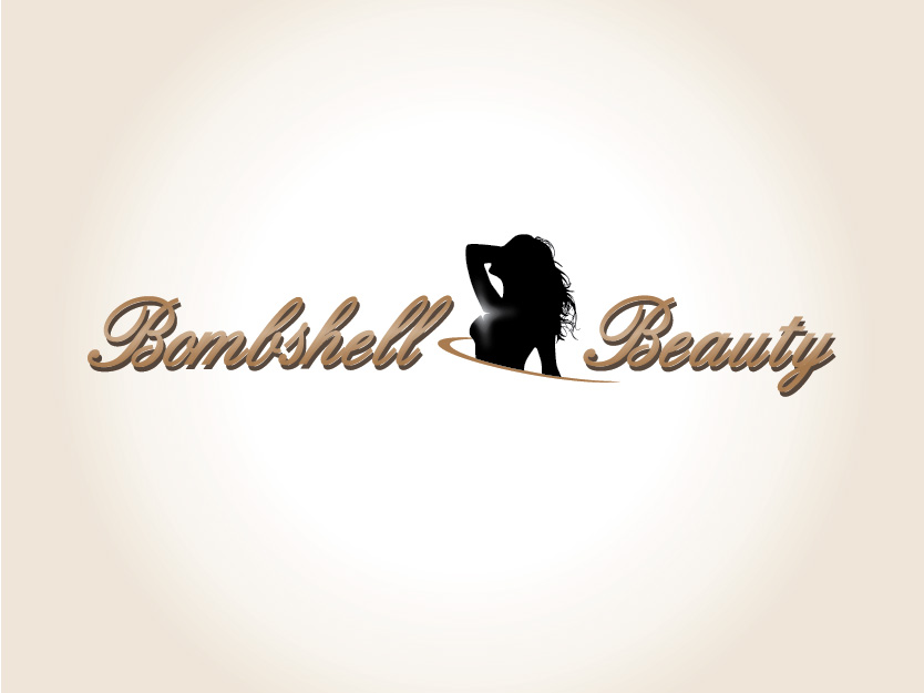 Logo Design by Private User - Entry No. 28 in the Logo Design Contest Logo Design Needed for Exciting New Company Bombshell Beauty.