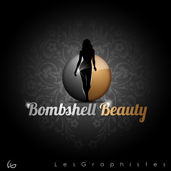 Logo Design by Les-Graphistes - Entry No. 30 in the Logo Design Contest Logo Design Needed for Exciting New Company Bombshell Beauty.