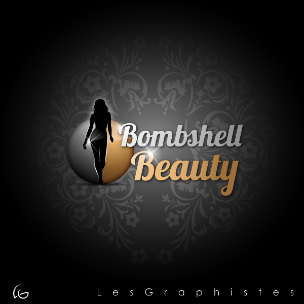 Logo Design by Les-Graphistes - Entry No. 31 in the Logo Design Contest Logo Design Needed for Exciting New Company Bombshell Beauty.