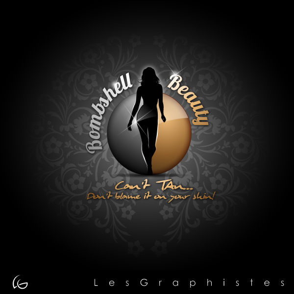 Logo Design by Les-Graphistes - Entry No. 32 in the Logo Design Contest Logo Design Needed for Exciting New Company Bombshell Beauty.