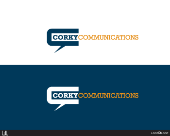 Logo Design by Private User - Entry No. 27 in the Logo Design Contest Corky Communications.