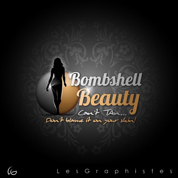 Logo Design by Les-Graphistes - Entry No. 36 in the Logo Design Contest Logo Design Needed for Exciting New Company Bombshell Beauty.