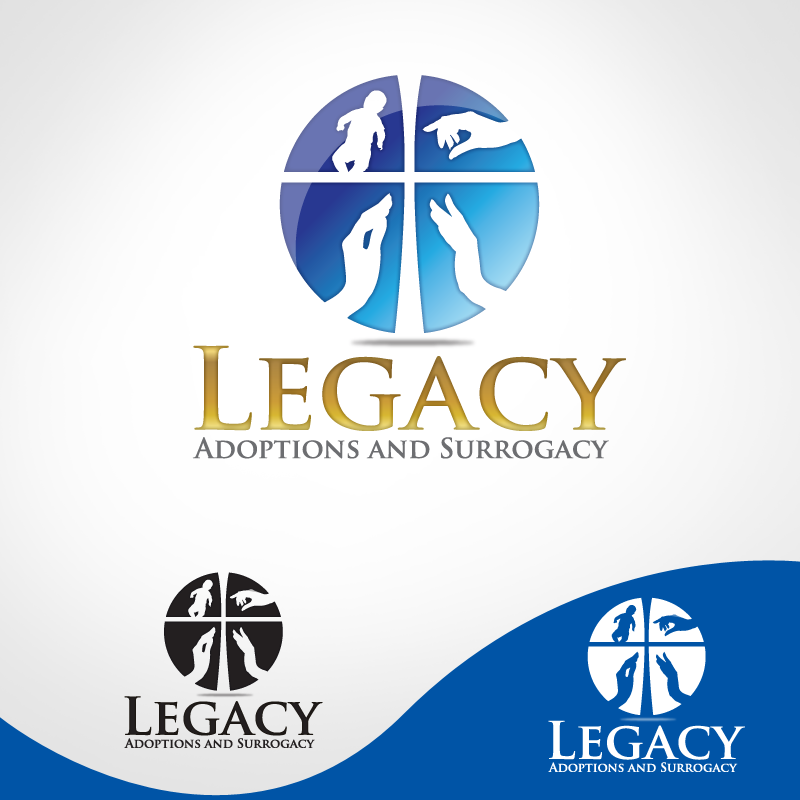 Logo Design by storm - Entry No. 13 in the Logo Design Contest Legacy Adoptions and Surrogacy Logo Design.