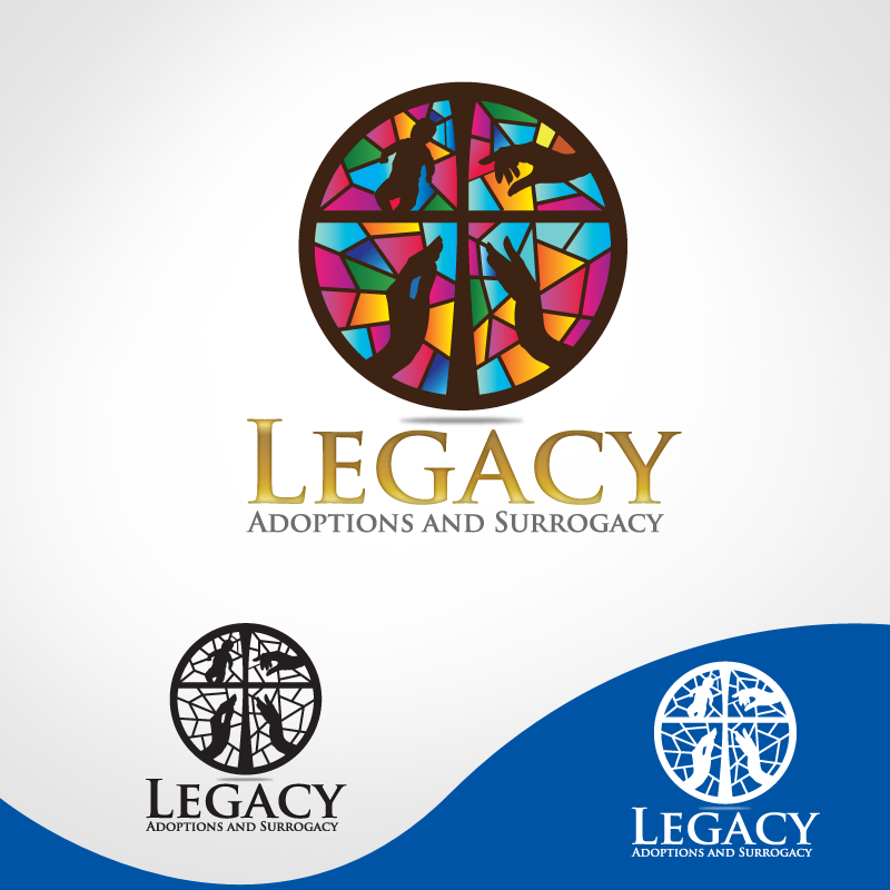 Logo Design by storm - Entry No. 14 in the Logo Design Contest Legacy Adoptions and Surrogacy Logo Design.