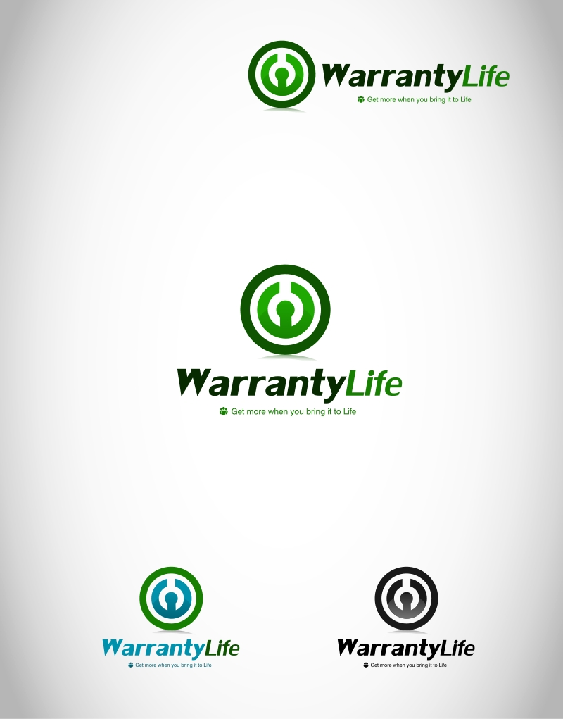 Logo Design by Private User - Entry No. 32 in the Logo Design Contest WarrantyLife Logo Design.