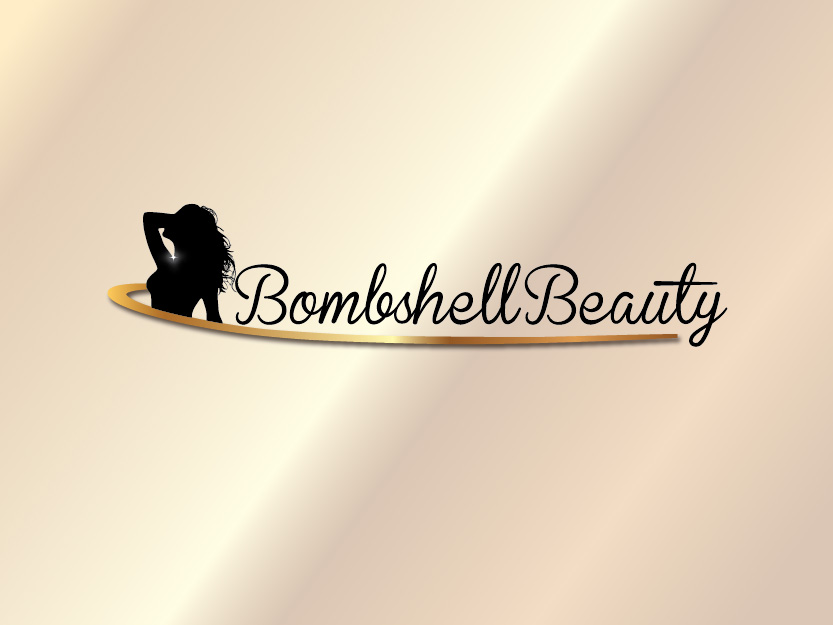 Logo Design by Private User - Entry No. 42 in the Logo Design Contest Logo Design Needed for Exciting New Company Bombshell Beauty.