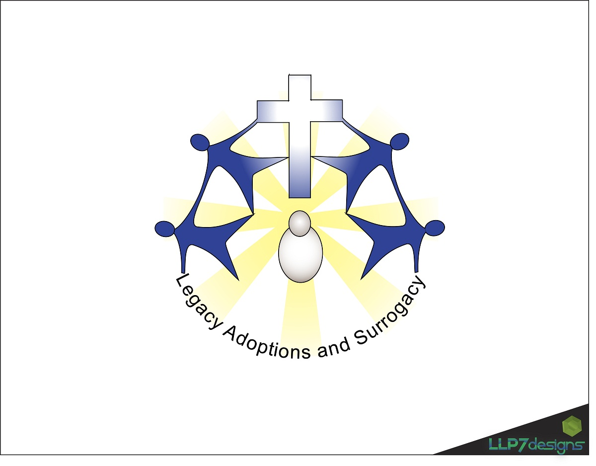 Logo Design by LLP7 - Entry No. 15 in the Logo Design Contest Legacy Adoptions and Surrogacy Logo Design.