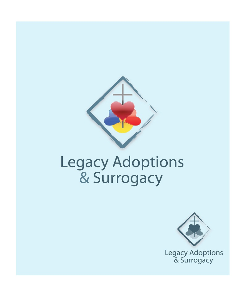 Logo Design by kowreck - Entry No. 17 in the Logo Design Contest Legacy Adoptions and Surrogacy Logo Design.