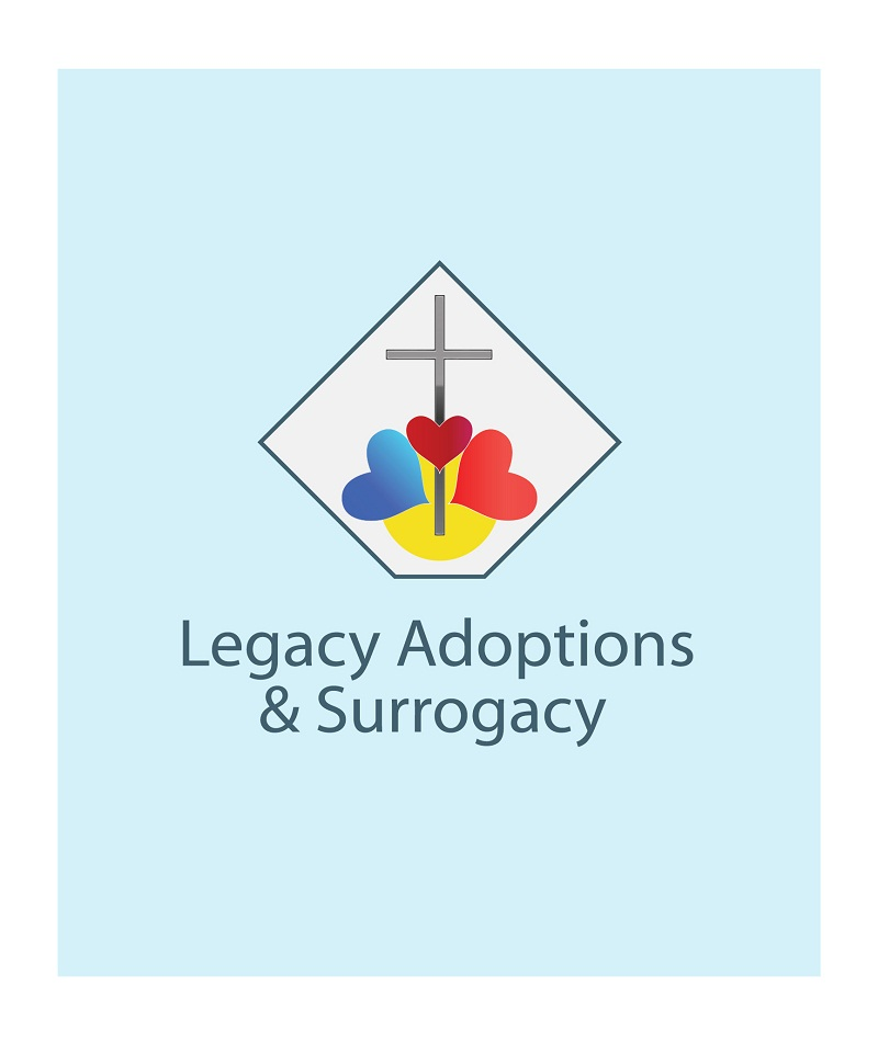 Logo Design by kowreck - Entry No. 19 in the Logo Design Contest Legacy Adoptions and Surrogacy Logo Design.