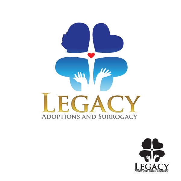 Logo Design by storm - Entry No. 21 in the Logo Design Contest Legacy Adoptions and Surrogacy Logo Design.