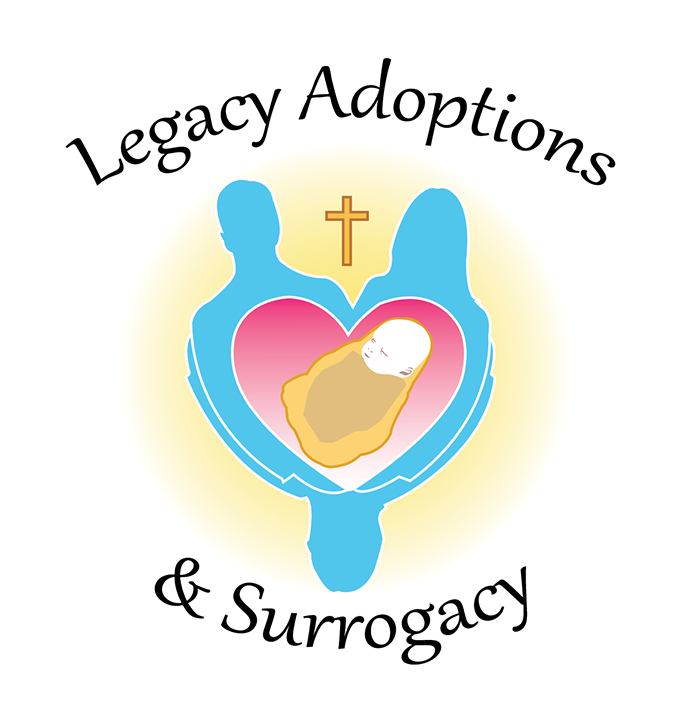Logo Design by robken0174 - Entry No. 23 in the Logo Design Contest Legacy Adoptions and Surrogacy Logo Design.