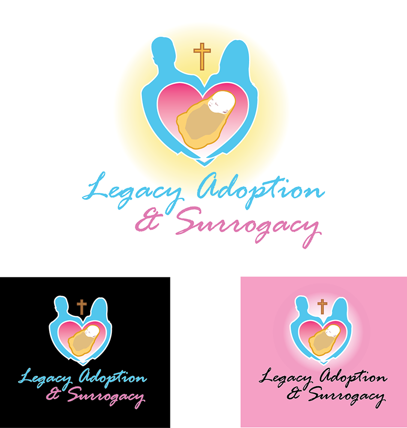 Logo Design by robken0174 - Entry No. 30 in the Logo Design Contest Legacy Adoptions and Surrogacy Logo Design.