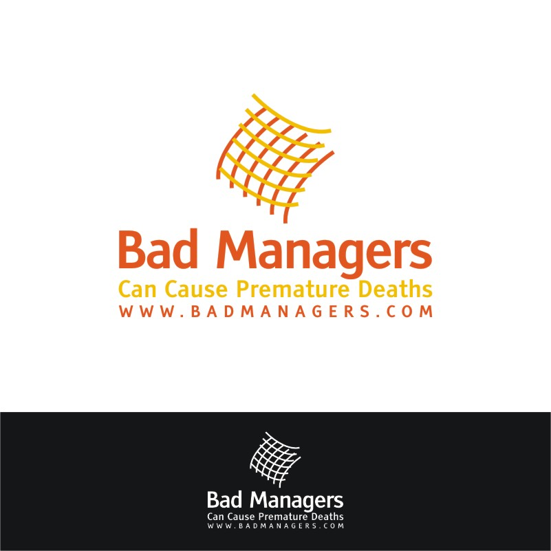 Logo Design by Private User - Entry No. 3 in the Logo Design Contest Unique Logo Design Wanted for Bad Managers Can Cause Premature Deaths.