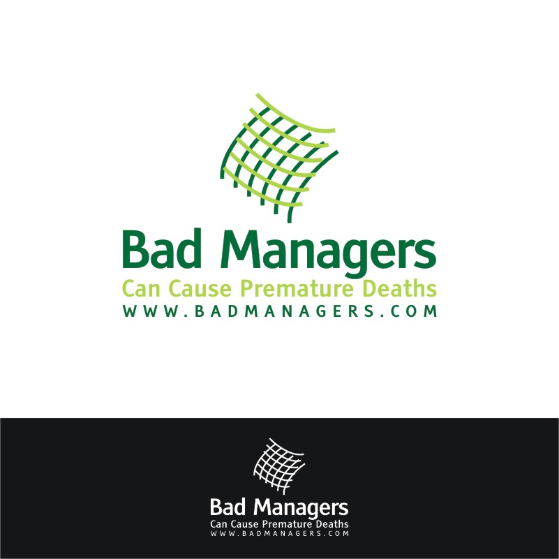 Logo Design by Private User - Entry No. 5 in the Logo Design Contest Unique Logo Design Wanted for Bad Managers Can Cause Premature Deaths.