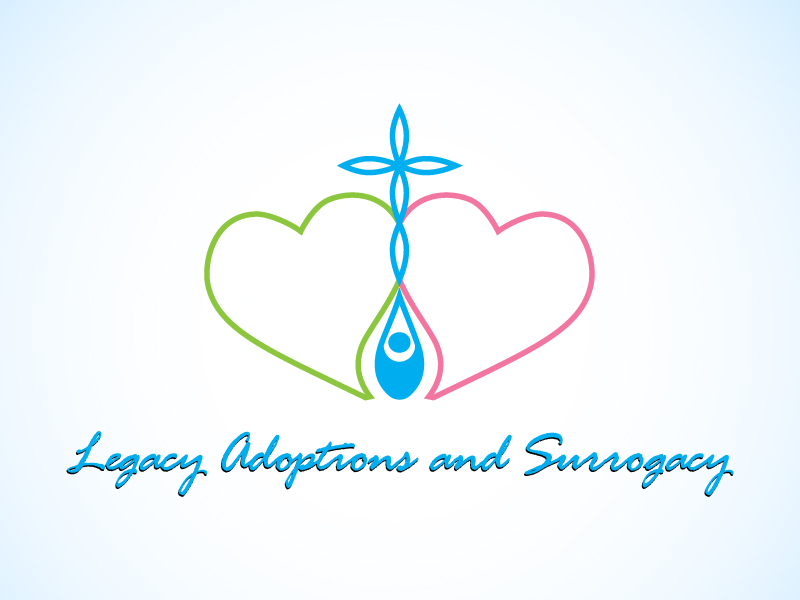 Logo Design by Niki_e_Z - Entry No. 33 in the Logo Design Contest Legacy Adoptions and Surrogacy Logo Design.