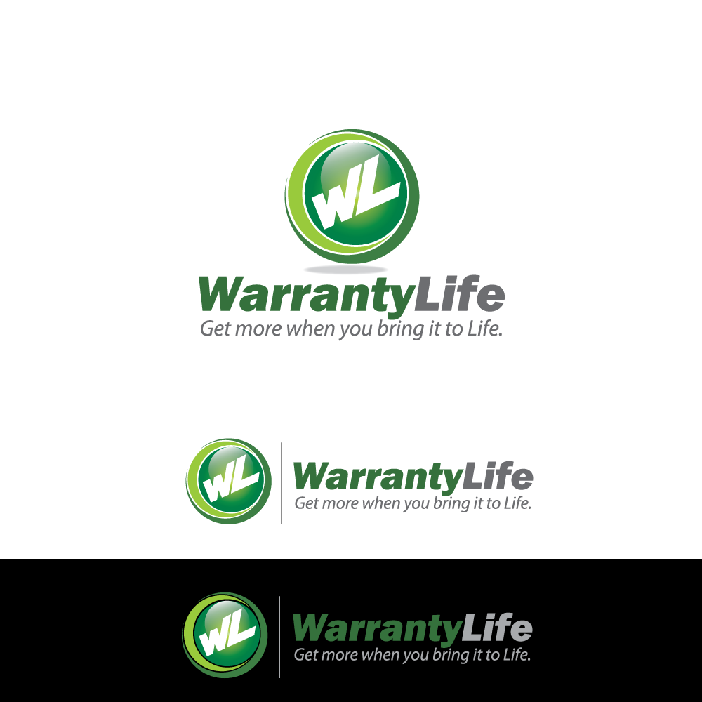 Logo Design by rockin - Entry No. 64 in the Logo Design Contest WarrantyLife Logo Design.