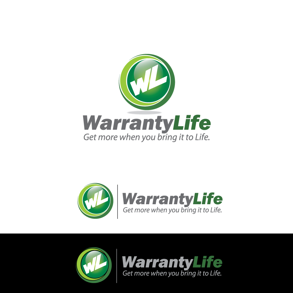 Logo Design by rockin - Entry No. 65 in the Logo Design Contest WarrantyLife Logo Design.