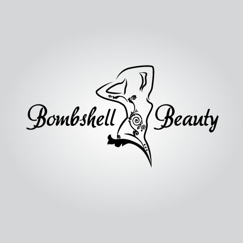 Logo Design by Dockland Assist - Entry No. 61 in the Logo Design Contest Logo Design Needed for Exciting New Company Bombshell Beauty.