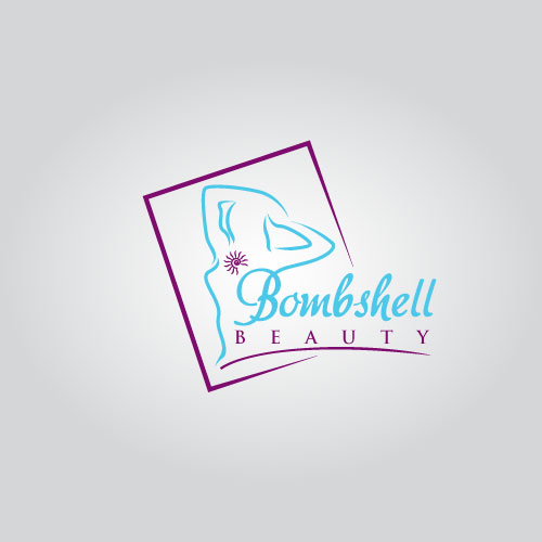 Logo Design by Dockland Assist - Entry No. 62 in the Logo Design Contest Logo Design Needed for Exciting New Company Bombshell Beauty.