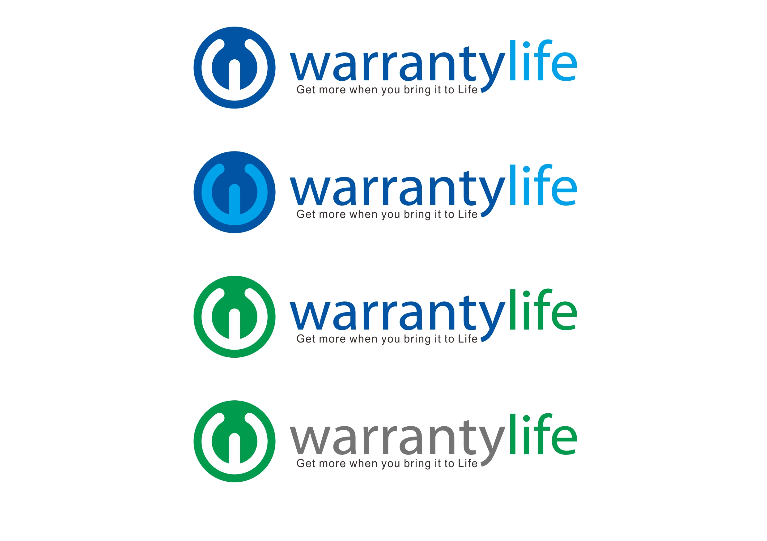 Logo Design by Teguh Mudjianto - Entry No. 68 in the Logo Design Contest WarrantyLife Logo Design.