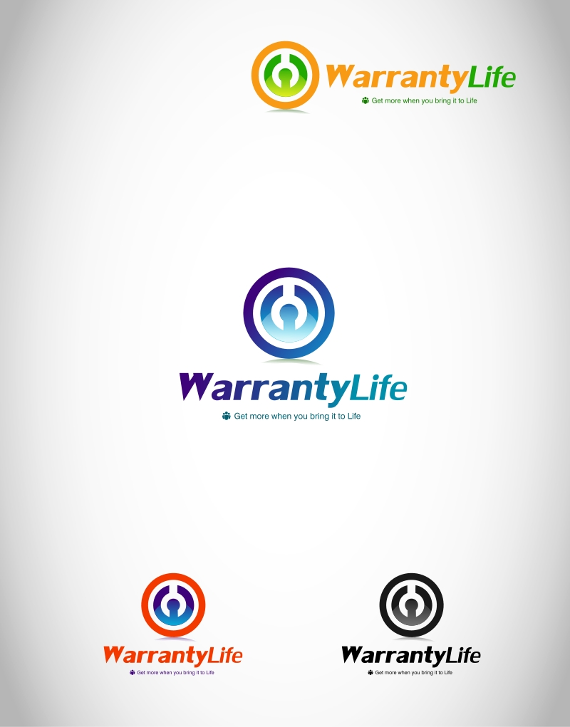 Logo Design by Private User - Entry No. 71 in the Logo Design Contest WarrantyLife Logo Design.