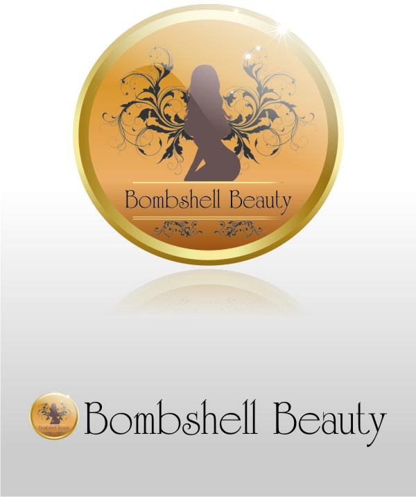 Logo Design by Private User - Entry No. 66 in the Logo Design Contest Logo Design Needed for Exciting New Company Bombshell Beauty.