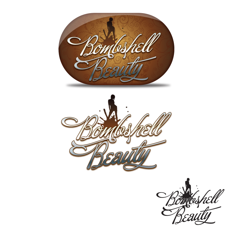 Logo Design by storm - Entry No. 68 in the Logo Design Contest Logo Design Needed for Exciting New Company Bombshell Beauty.