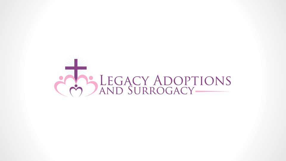 Logo Design by azqaa - Entry No. 38 in the Logo Design Contest Legacy Adoptions and Surrogacy Logo Design.