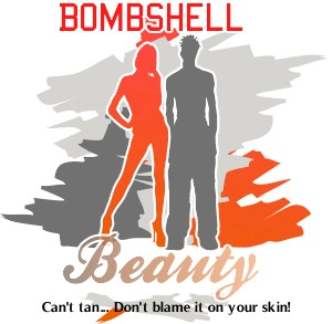 Logo Design by Khalid Mushtaq - Entry No. 76 in the Logo Design Contest Logo Design Needed for Exciting New Company Bombshell Beauty.