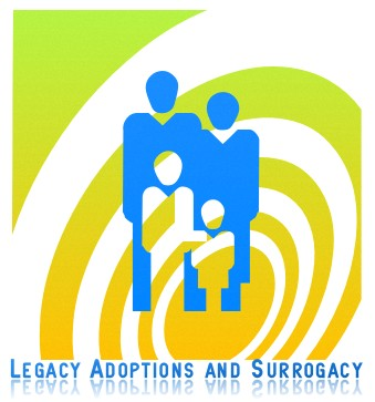 Logo Design by Khalid Mushtaq - Entry No. 40 in the Logo Design Contest Legacy Adoptions and Surrogacy Logo Design.