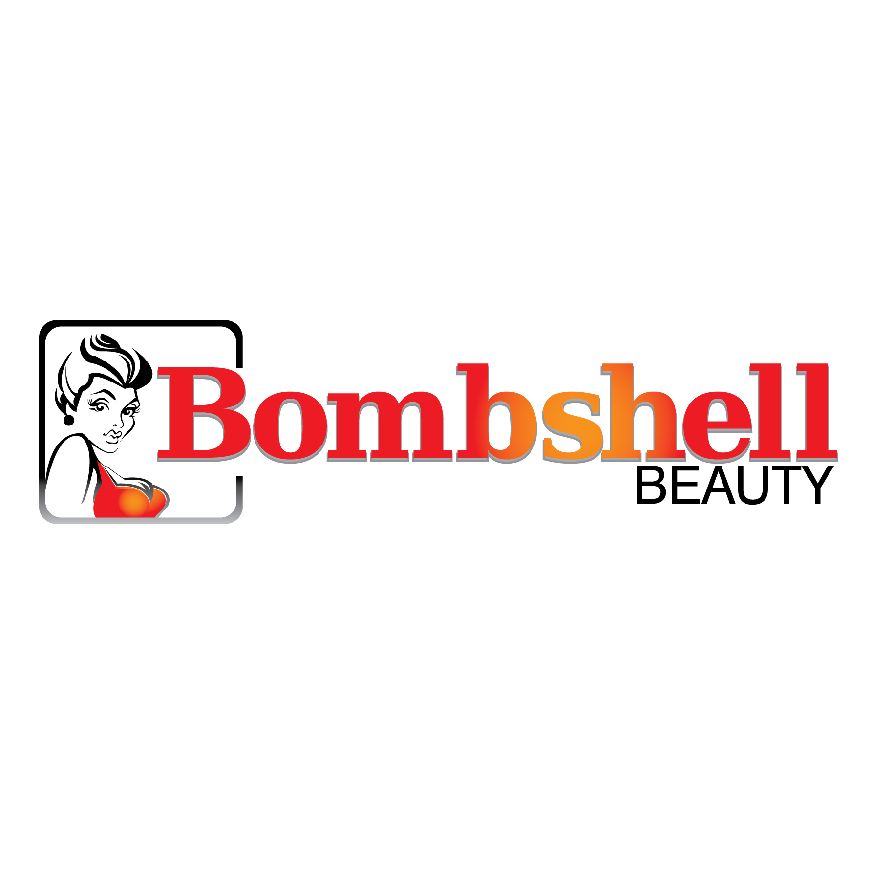 Logo Design by stormbighit - Entry No. 86 in the Logo Design Contest Logo Design Needed for Exciting New Company Bombshell Beauty.