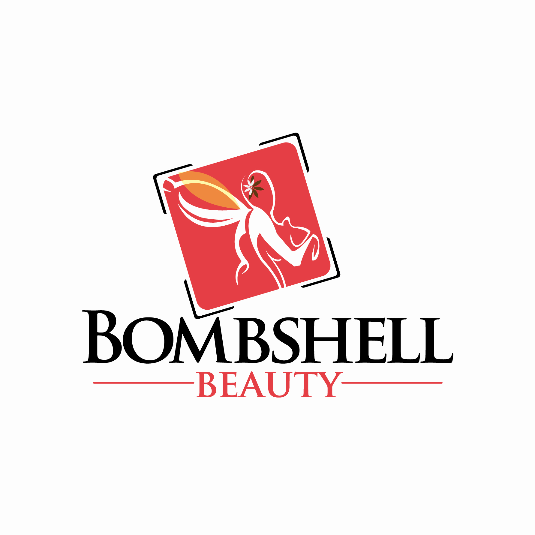 Logo Design by stormbighit - Entry No. 88 in the Logo Design Contest Logo Design Needed for Exciting New Company Bombshell Beauty.