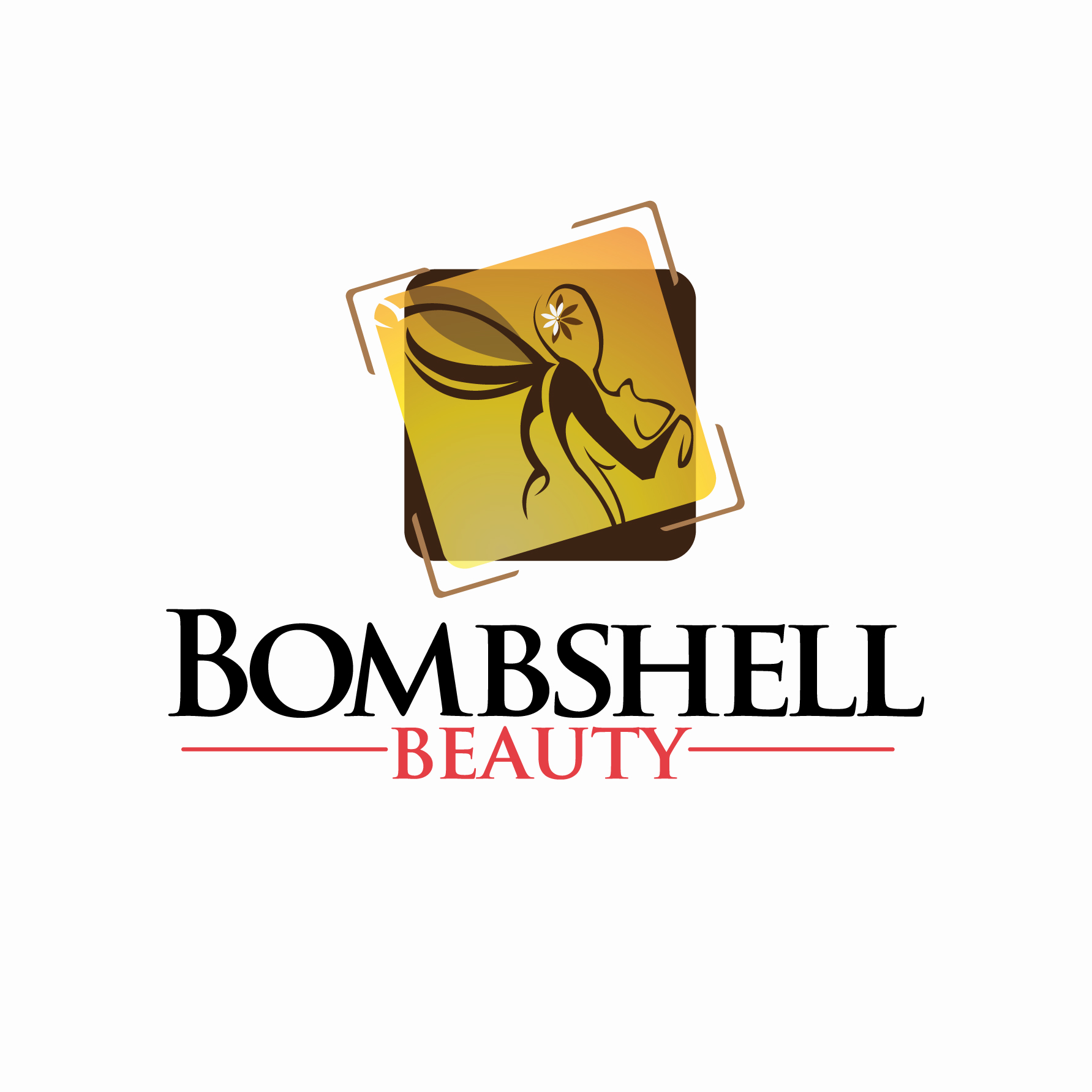 Logo Design by stormbighit - Entry No. 91 in the Logo Design Contest Logo Design Needed for Exciting New Company Bombshell Beauty.