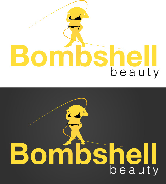 Logo Design by Private User - Entry No. 95 in the Logo Design Contest Logo Design Needed for Exciting New Company Bombshell Beauty.