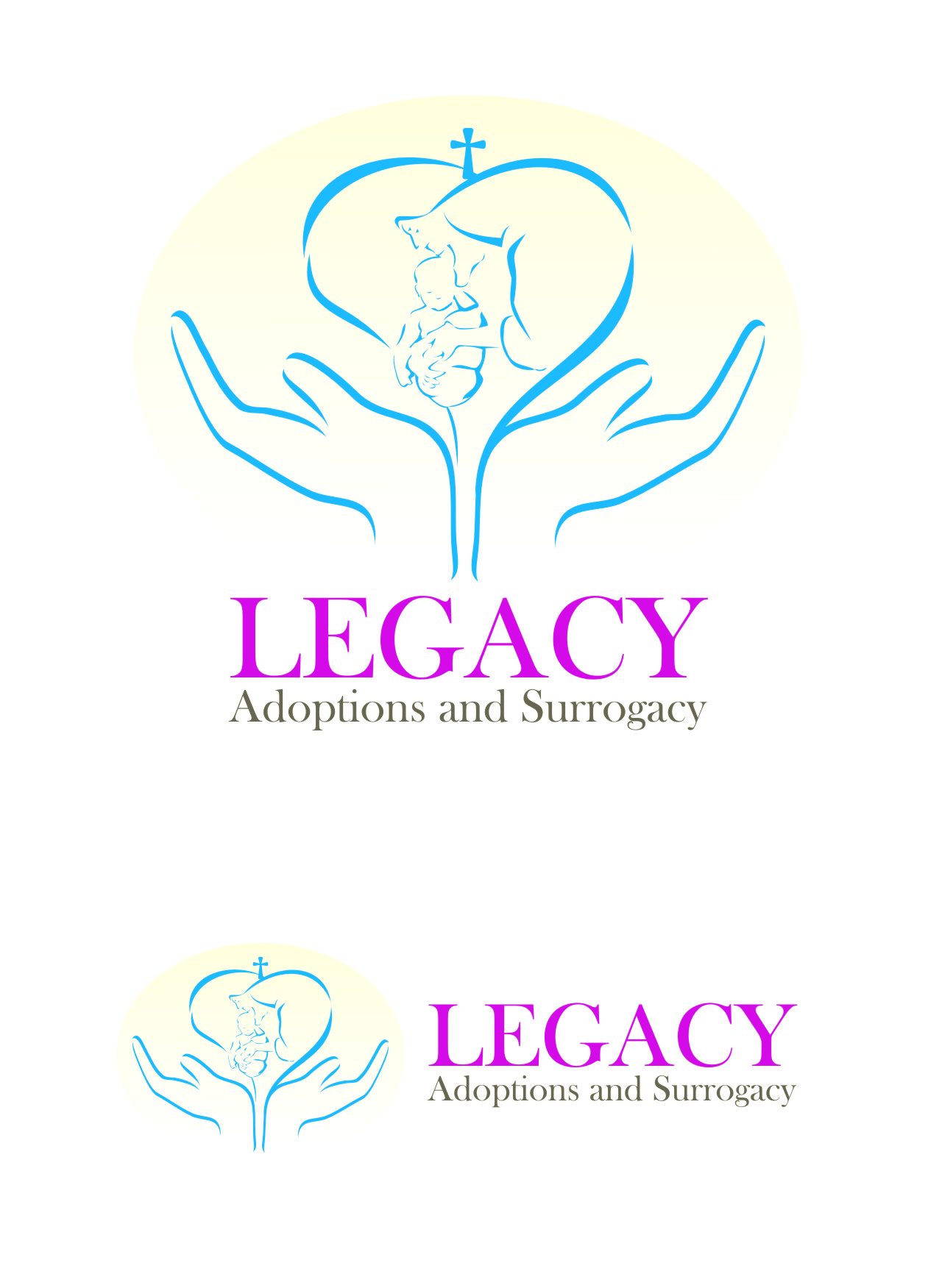 Logo Design by Private User - Entry No. 41 in the Logo Design Contest Legacy Adoptions and Surrogacy Logo Design.