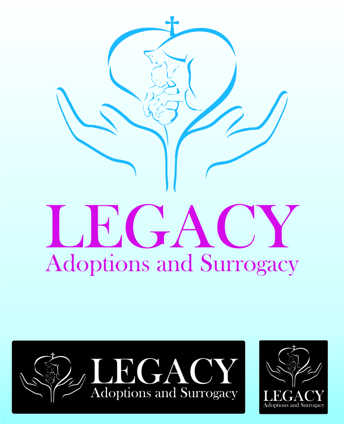 Logo Design by Private User - Entry No. 42 in the Logo Design Contest Legacy Adoptions and Surrogacy Logo Design.