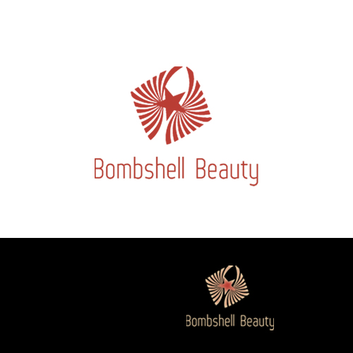 Logo Design by Jelena Kaerner - Entry No. 98 in the Logo Design Contest Logo Design Needed for Exciting New Company Bombshell Beauty.